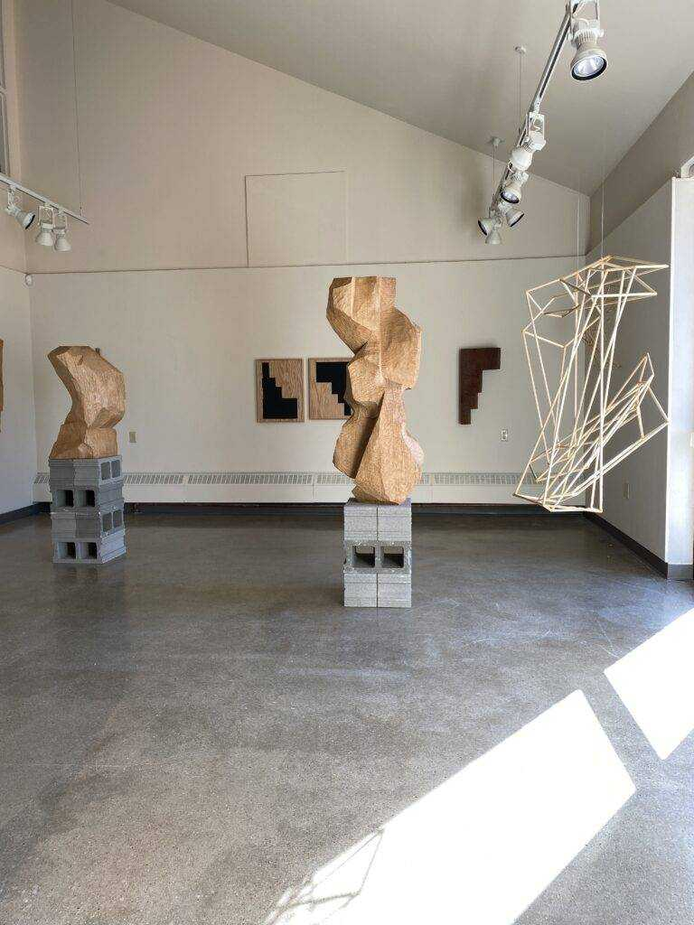 The Undetectable Presence by Mike Slaski on view in the artlab.