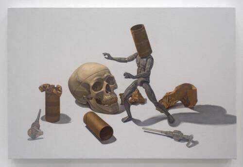 """""""Blind Man."""" 2020. Acrylic on Canvas."""