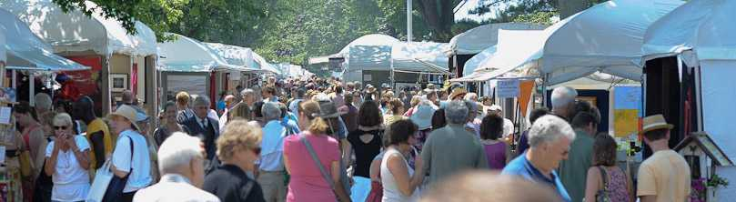 Art Fair Crowd